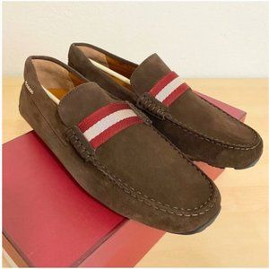 Bally Pearce Moccasins Leather Driver Shoes